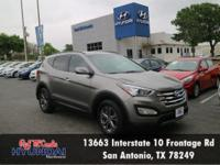 Check out this 2013 Hyundai Santa Fe Sport. Its