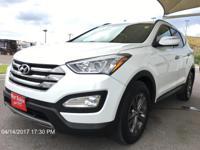 Take command of the road in the 2013 Hyundai Santa Fe!