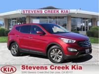 Options:  2013 Hyundai Santa Fe Fe|Red|2.4L Inline