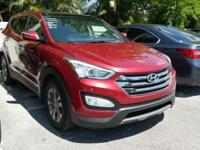 Options:  2013 Hyundai Santa Fe Sport|Red|Hyundai