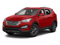 Options:  2013 Hyundai Santa Fe Sport|White/|V4 2.4L
