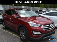 New Price! This Santa Fe features:  Clean CARFAX.