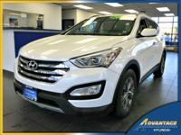 This 1-Owner, low mileage Hyundai Santa Fe Sport is a