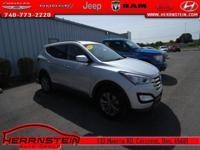 AWD, Cloth. Santa Fe Hyundai 26/20 Highway/City MPG
