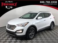 Recent Arrival! Santa Fe Sport, FWD, White, Gray Cloth,