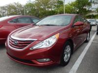 Bluetooth and One Owner Florida Driven Car. Sonata GLS,