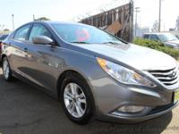 This 2013 Hyundai Sonata 4dr GLS Sedan 4D features a