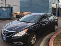 CARFAX One-Owner. Pacific Blue Pearl Mica 2013 Hyundai