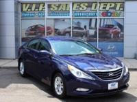 Indigo Night Mica 2013 Hyundai Sonata FWD 6-Speed