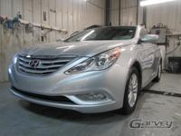 The 2013 Hyundai Sonata is equipped with the GLS trim