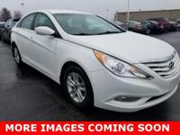 2013 Hyundai Sonata GLS WhitePriced below KBB Fair