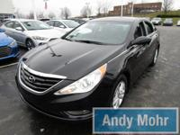 CARFAX One-Owner. 2013 Hyundai Sonata GLS in Midnight