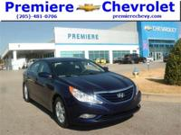 Options:  2013 Hyundai Sonata Gls|Blue/|V4 2.4L