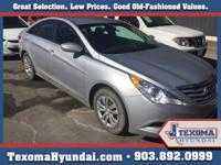 1 Owner Clean Car-Fax Texoma Hyundai is pleased to be