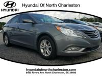 Gray 2013 Hyundai Sonata FWD 6-Speed Automatic with