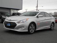 Climb inside the 2013 Hyundai Sonata Hybrid! It just