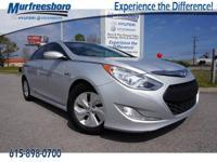 2013 Silver Frost Metallic Hyundai Sonata Hybrid