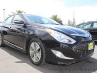 This 2013 Hyundai Sonata Hybrid Limited Sedan 4D