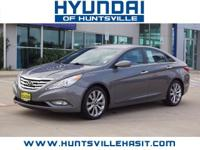 Harbor Gray Metallic 2013 Hyundai Sonata SE ** $0 Down