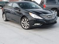 Certified. 2013 Hyundai Sonata SE Midnight Black Mica