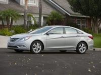 2013 Hyundai Silver Sonata Certified. CARFAX One-Owner.
