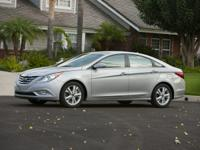 2013 Hyundai Black Sonata Certified. CARFAX One-Owner.