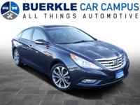 2013 Sonata Limited. TURBO-CHARGED! Hard not to be
