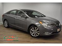 Harbor Gray Metallic 2013 Hyundai Sonata SE FWD 6-Speed