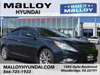 CARFAX One-Owner. Pacific Blue 2013 Hyundai Sonata SE