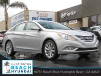2013 Hyundai Sonata Radiant Silver 6-Speed Automatic