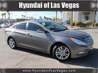 Sonata Limited, Hyundai Certified, 4D Sedan, Harbor