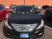 2013 Hyundai Sonata Limited In Midnight Black Mica *