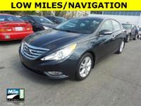 2013 SONATA LIMITED***ONE OWNER***CLEAN CARFAX***LOW