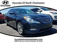 Silver Blue 2013 Hyundai Sonata GLS FWD 6-Speed