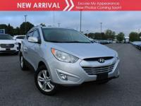 New arrival! 2013 Hyundai Tucson GLS! Only 98,052