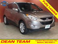 Our 2013 Hyundai Tucson Limited AWD proudly displayed