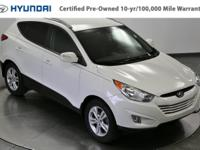 Step into the 2013 Hyundai Tucson! This vehicle