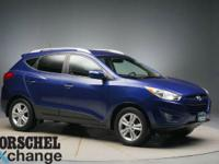 AWD!Blue 2013 Hyundai Tucson GLS27/20 Highway/City MPG