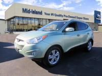 This 2013 Hyundai Tucson GLS is Well Equipped with All
