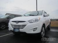 The 2013 Hyundai Tucson is a five-passenger compact