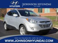 2013 Hyundai Tucson Limited and Bluetooth. Front dual