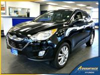 This hard to find, 1-Owner Hyundai Tucson Limited has