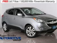 Take command of the road in the 2013 Hyundai Tucson!