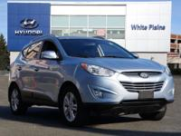 2013 Hyundai Tucson GLS Aurora Blue Carfax One-Owner.