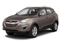 Bold and beautiful, this 2013 Hyundai Tucson represents
