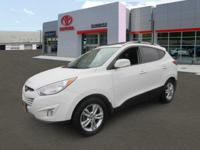 Get lots for your money with this 2013 Hyundai Tucson.