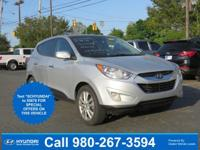 Diamond Silver 2013 Hyundai Tucson Limited FWD 6-Speed