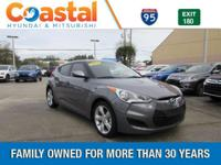 This 2013 Hyundai Veloster in Gray features: FWD Clean