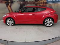Recent Arrival! 2013 Hyundai Veloster Base Red Metallic