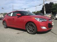 2013 Hyundai Veloster Red 17 x 7.0J Alloy Wheels, ABS